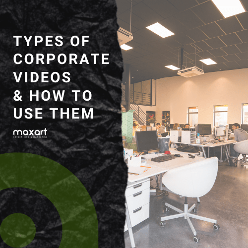 Types of Corporate Videos & How to Use Them